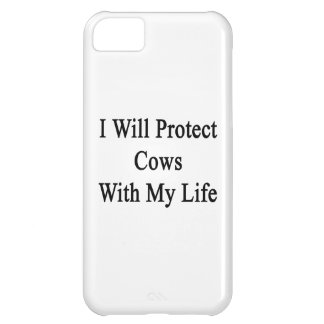 I Will Protect Cows With My Life iPhone 5C Case