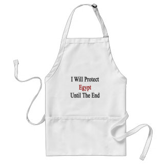 I Will Protect Egypt Until The End Apron