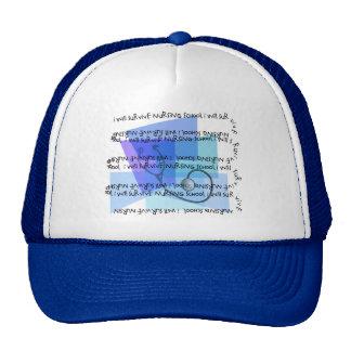 I Will Survive Nursing School Hats