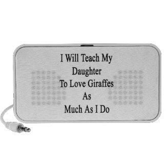 I Will Teach My Daughter To Love Giraffes As Much Speaker System