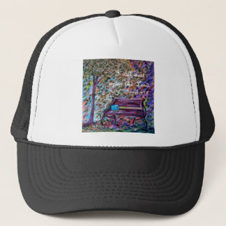 I Will Wait Upon the Lord Trucker Hat