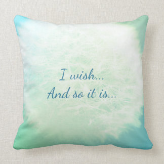 I wish...And so it is... Cushion