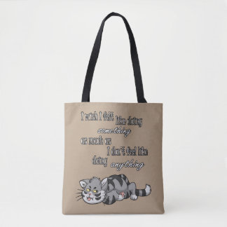 I Wish I Felt Like... All-Over-Print Tote Bag