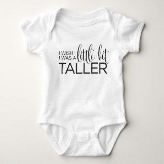 I Wish I Was A Little Bit Taller T-shirt