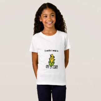 I wish I was a Unicorn Corn T-Shirt