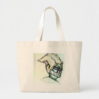 I wish you knew how much I love you the ambient Large Tote Bag