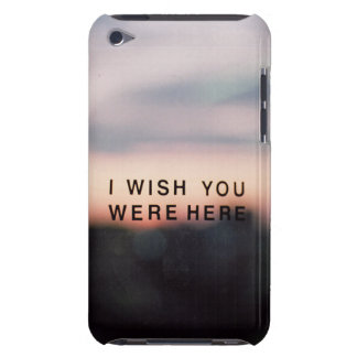 I wish you were here iPod Case-Mate case