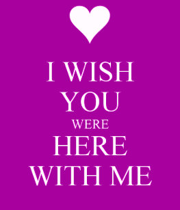 I Miss You Wish You Were Here Home Furnishings Accessories