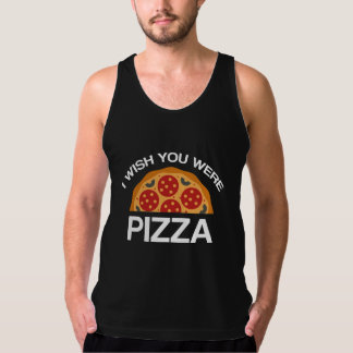 I Wish You Were Pizza Singlet