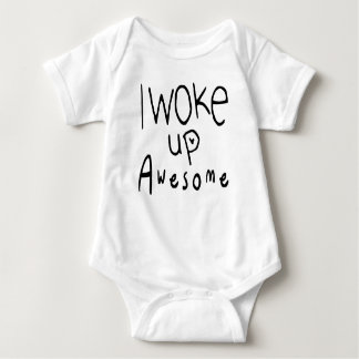 I Woke Up Awesome Baby Tee