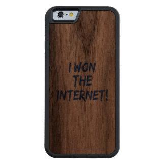 I Won the Internet Walnut iPhone 6 Bumper