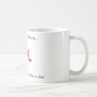 I wonder what im drinking..., What is this stuf... Basic White Mug