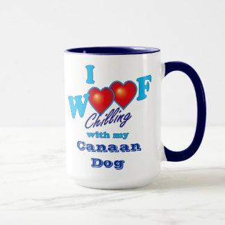 I Woof Canaan Dog Mug