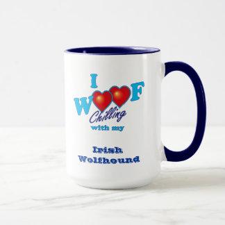 I Woof Irish Wolfhound Mug