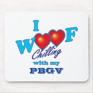 I Woof PBGV Mouse Pad