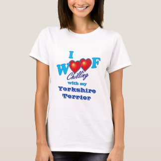I Woof Yorkshire Terrier T-Shirt