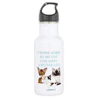I Work Hard 532 Ml Water Bottle