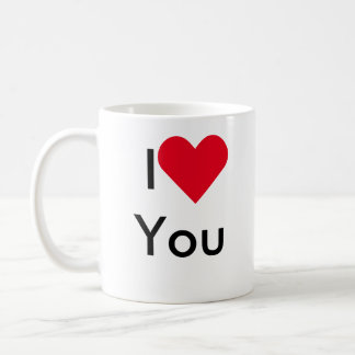 I ♥ You, just kidding Mug