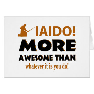 IAIDO DESIGN CARD