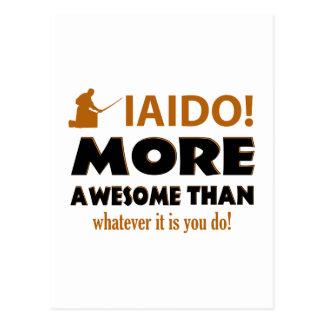 IAIDO DESIGN POSTCARD