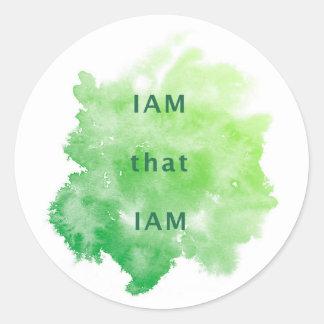 IAM that IAM Stickers