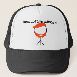 iamcaptainredbeard trucker hat