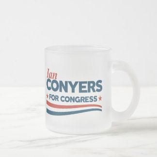 Ian Conyers Frosted Glass Coffee Mug