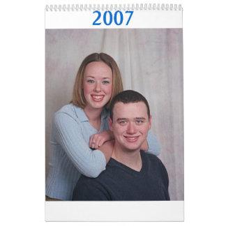 ian & em, 2007 calendars