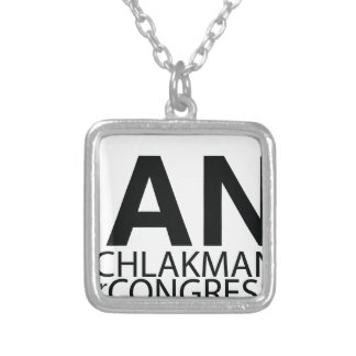 Ian for Congress Basic Logo Pendant