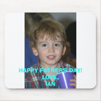 Ian head shot, HAPPY FATHERS DAY!LOVE,IAN Mouse Pad