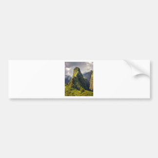 Iao Valley Maui Bumper Sticker