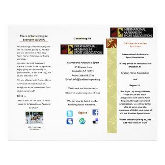 IASA Brochure 21.5 Cm X 28 Cm Flyer