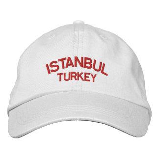 Iatanbul Turkey Personalized Adjustable Hat Embroidered Hats