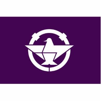 Ibaraki, Osaka, Japan flag Cut Outs