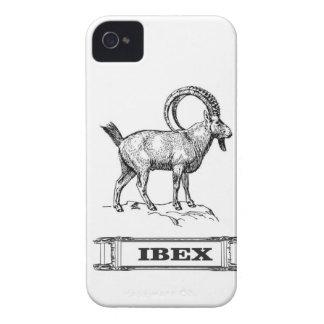 ibex fancy curl iPhone 4 Case-Mate case