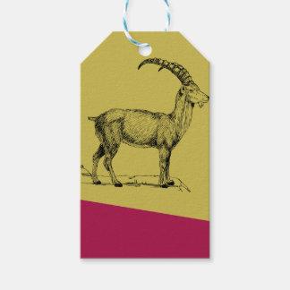 Ibex Gift Tags