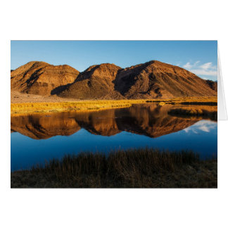 Ibex Hills Reflection Card