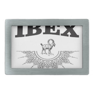 ibex the artwork belt buckle