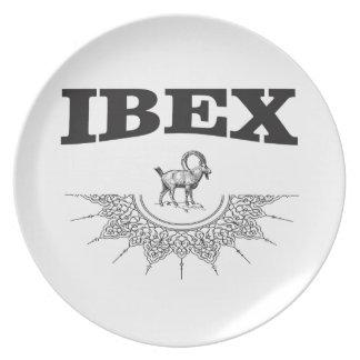 ibex the artwork plate