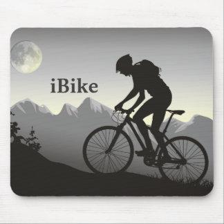 iBike Silhouette Mountin Bike Mousepad