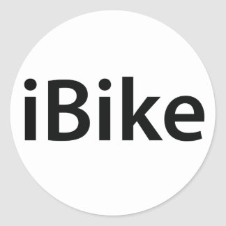 iBike stickers
