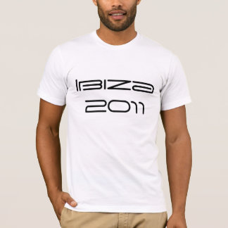 Ibiza 2011 t shirt put your own name and number on