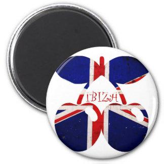Ibiza 6 Cm Round Magnet