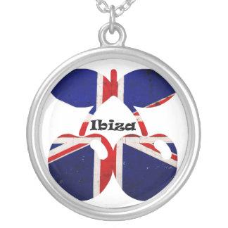 Ibiza Clubbing Silver Plated Necklace