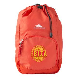 IBIZA Spain backpack