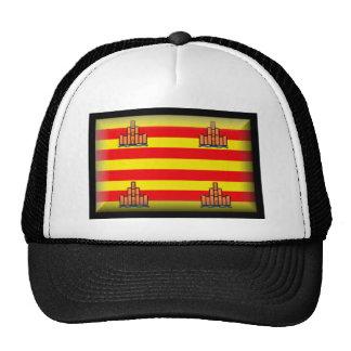 Ibiza Spain Flag Mesh Hat