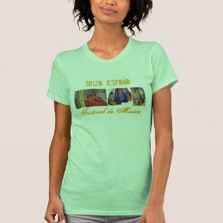 Ibiza, Spain Music Festival - Back T-shirt