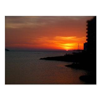 Ibiza Sunset Post Cards
