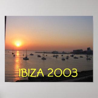 Ibiza Sunset Posters