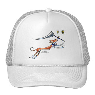 Ibizan Hound Butterflies Trucker Hats